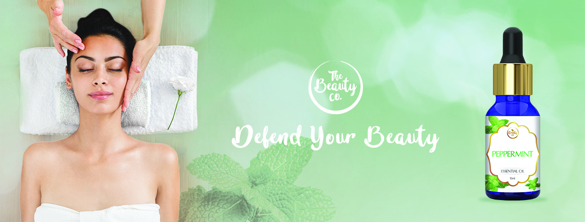 Get pure and glowing skin – The Beauty Co. Peppermint Essential Oil